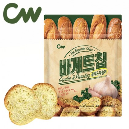 CW GARLIC AND PARSLEY BAGUETTE CHIPS