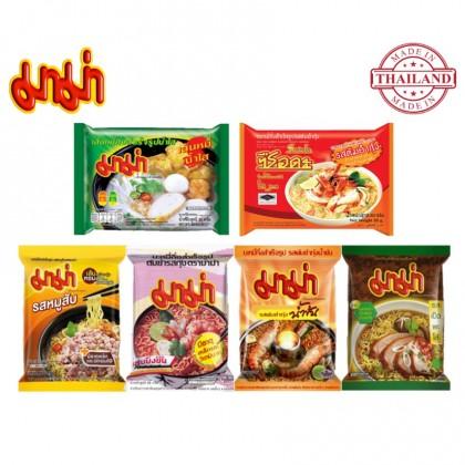 Thailand MAMA Instant Noodles Tomyum Shrimp Minced Pork Pa Lo Duck Bihun Soup Mama Mee Pack 泰国妈妈快熟面 冬阳虾 猪肉碎 鸭肉 清汤米粉