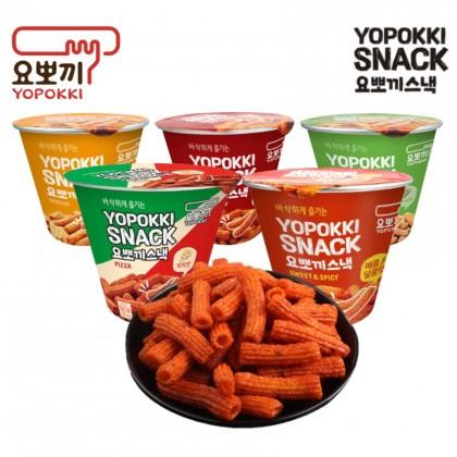 YOUNG POONG CRISPY YOPOKKI SNACK 脆年糕条零食 50g